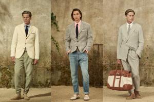 Brunello Cucinelli İlkbahar 2022 Erkek Giyim Koleksiyonu