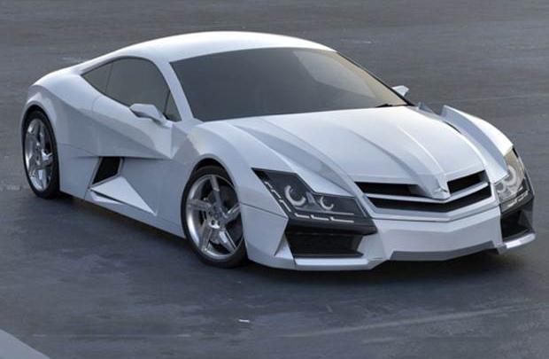 Steel Drake imzalı Mercedes Benz SF1