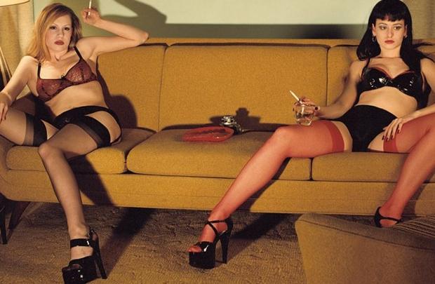 Vintage odalar, şehvetli kadınlar
