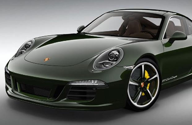 60 senenin şerefine Porsche 911 Club Coupe