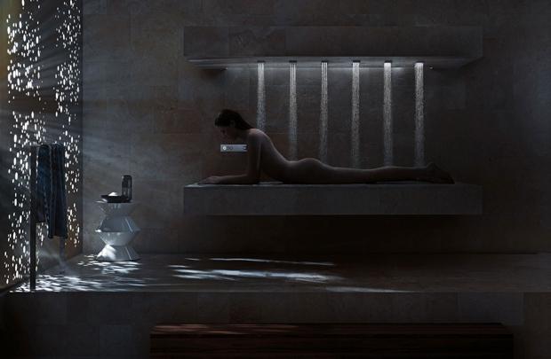 Yatay duş deneyimi