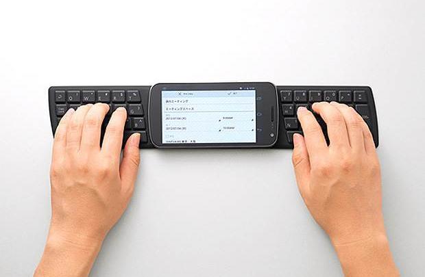 Cüzdan boyunda klavye