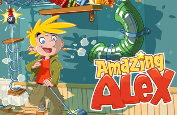 Angry Birds'ten sonra Amazing Alex