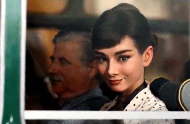 Audrey Hepburn ile yeniden