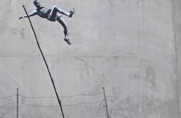 Banksy engellenemez