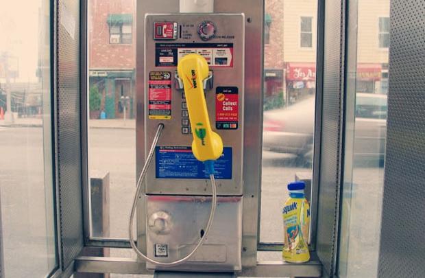 Telefon kulübesinden Wi-Fi noktasına