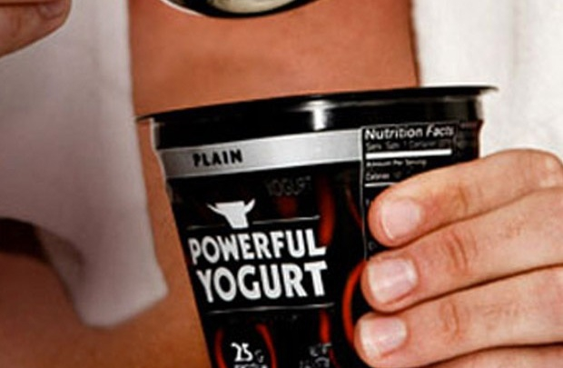 Erkeklere özel yoğurt