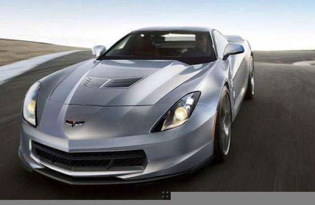 Corvette C7 için ilk ipucu