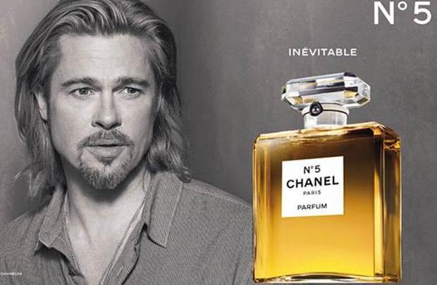 Chanel'in yeni yüzü Brad Pitt