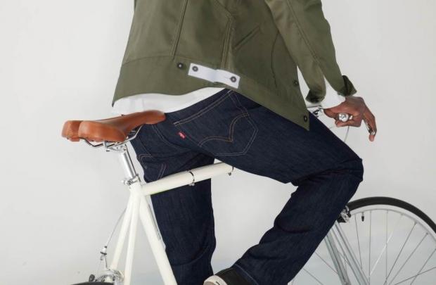 Bisiklet sürücülerine Levi's Commuter
