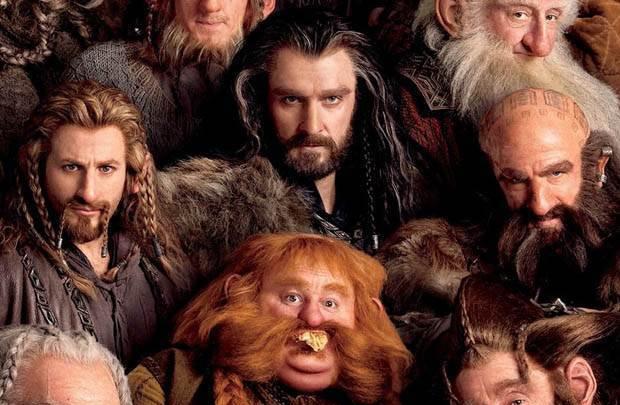 Hobbit'in kamera arkası