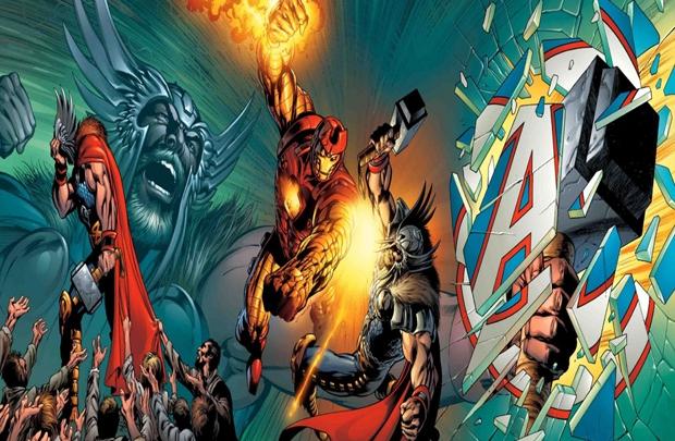 Iron Man, Thor'a karşı...