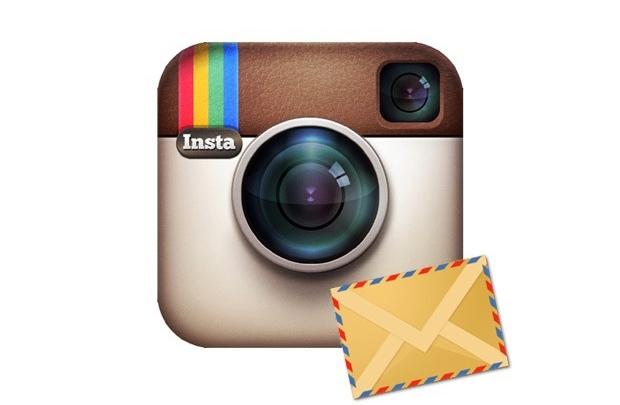 Instagram'dan mesaj var