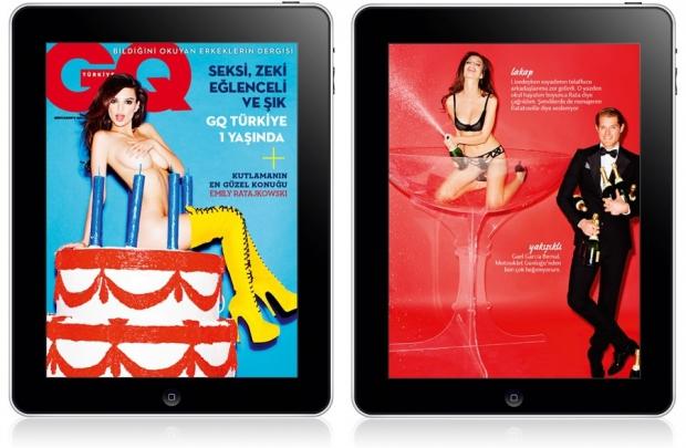 GQ Türkiye iPad Mart sayısı yayında