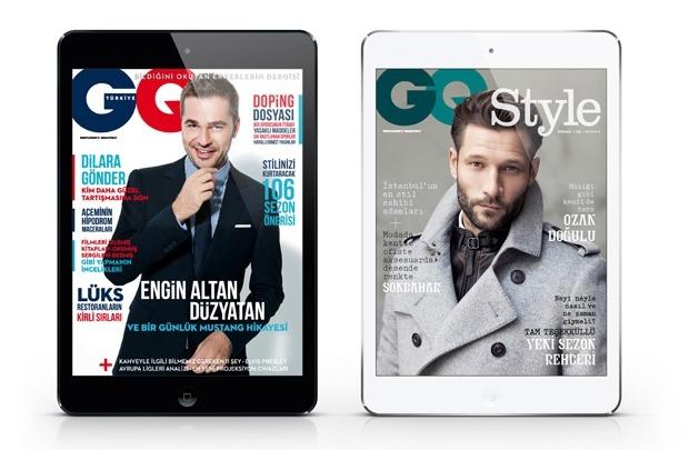 GQ Türkiye iPad Ekim sayısı yayında