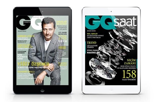 GQ Türkiye iPad Kasım sayısı yayında