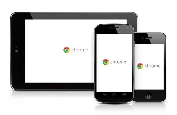 Google Chrome artık cepte