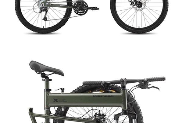 Paraşütçünün portatif bisikleti