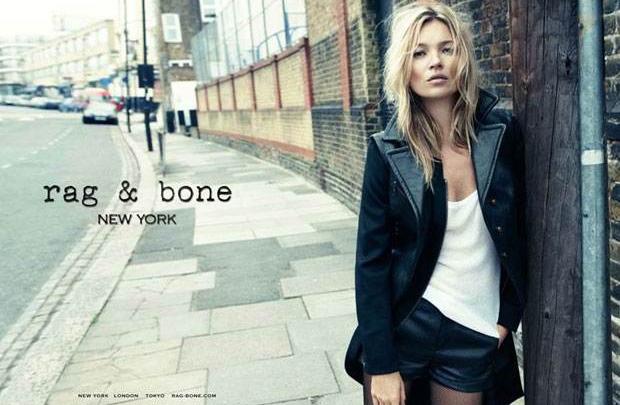 Kate Moss Londra sokaklarında