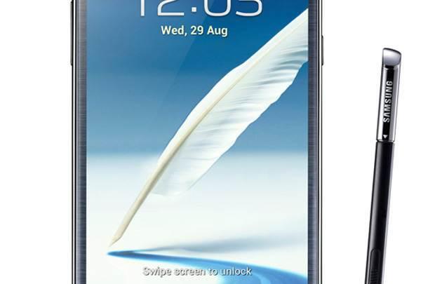 Galaxy Note II aramızda