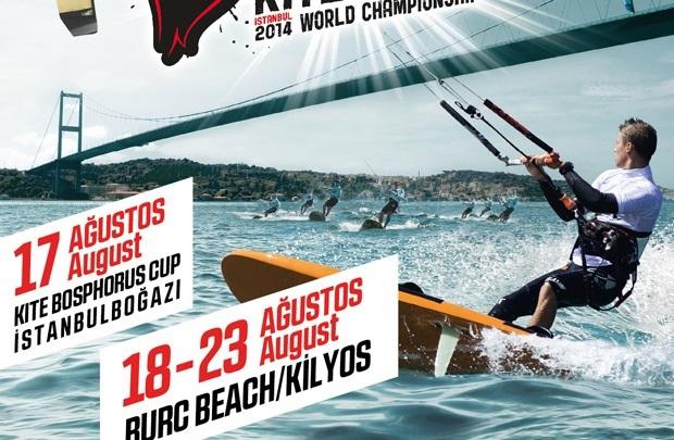 Burn Kiteboard Dünya Şampiyonası ilk kez İstanbul'da