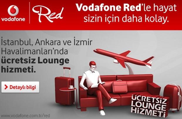 Ücretsiz lounge hizmeti