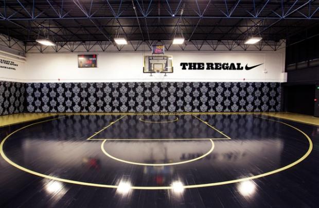 Nike'tan basketbol sahası: The Regal
