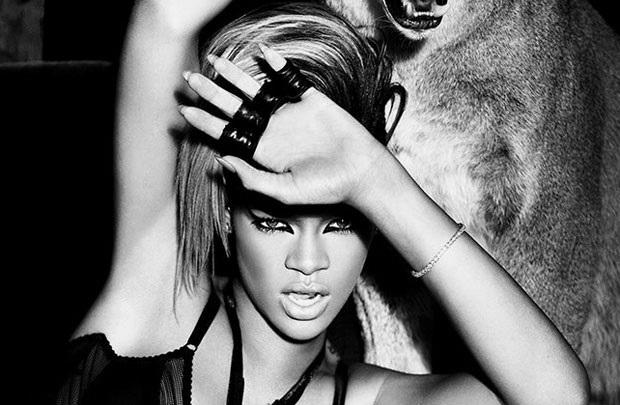 Puma'nın son favorisi Rihanna