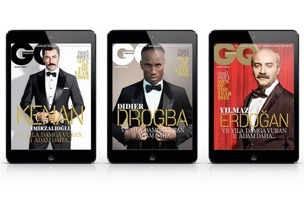 GQ Türkiye iPad Men of the Year sayısı yayında