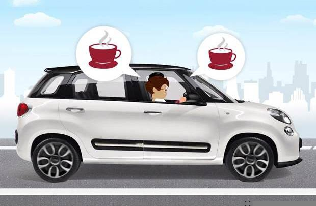 Trafikte espresso sefası