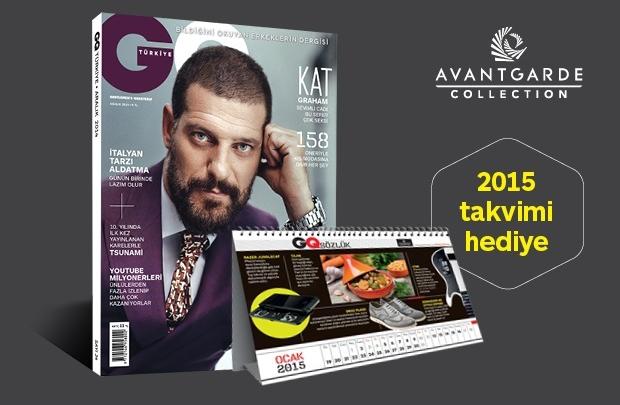GQ Türkiye 2015 Takvimi