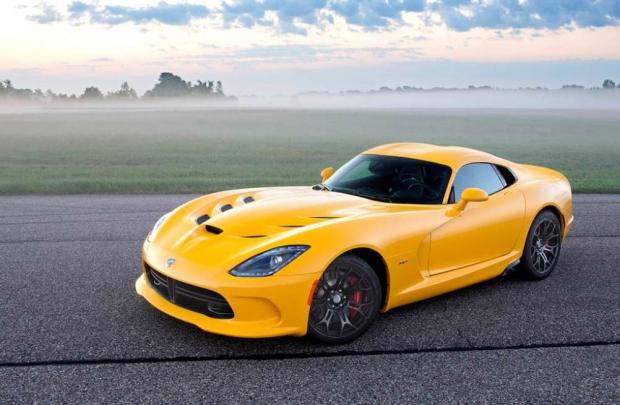 Corvette'in yeni rakibi SRT Viper
