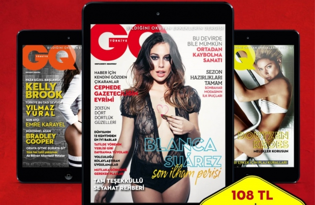 GQ iPad yaz kampanyası