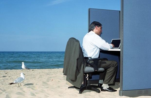 Ofiste bir yaz günü