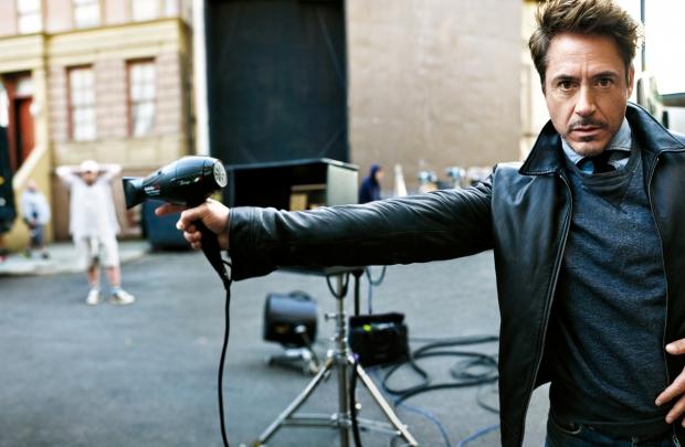 Yenilmez savaşçı Robert Downey Jr.