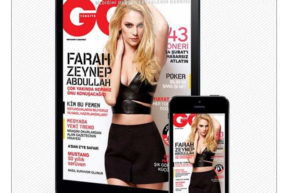 GQ Türkiye şimdi iPhone'da