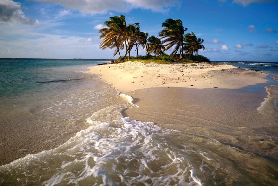 Haritanın Yırtılan Yerleri: Sandy Adası
