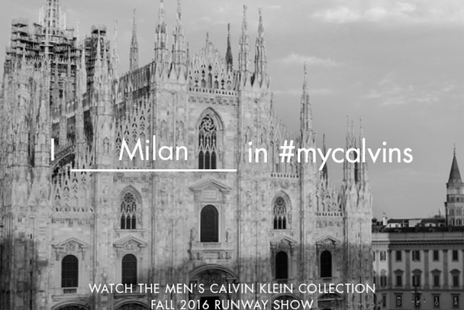 Milano Moda Haftası'ndan Canlı Yayın