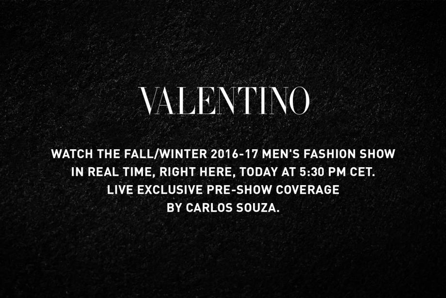 Valentino Sonbahar / Kış 2016 Defilesi Canlı Yayını