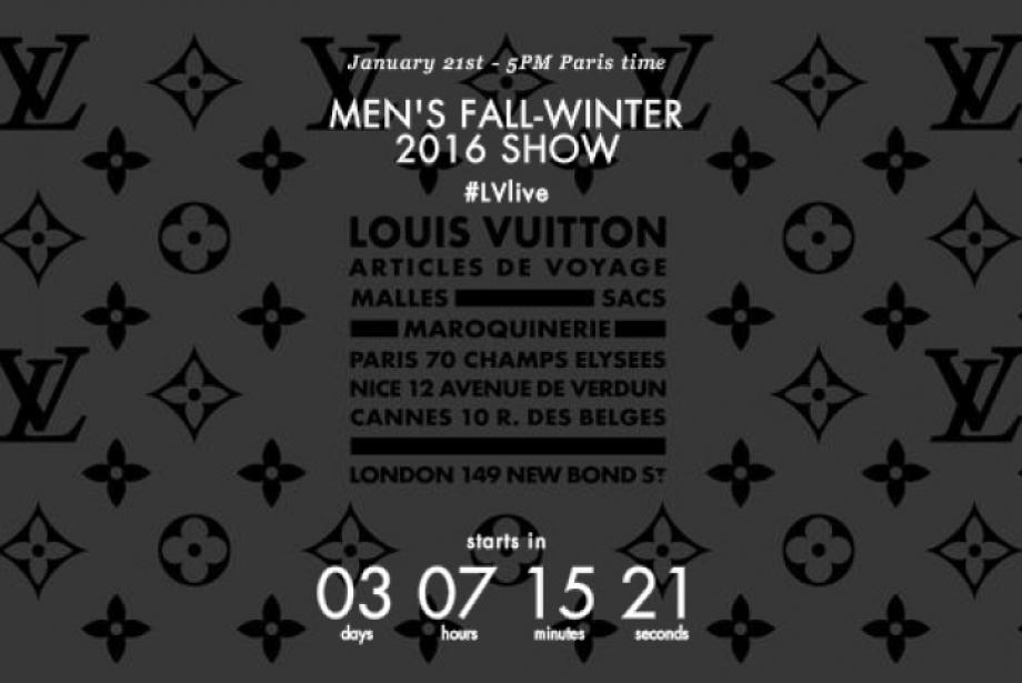 Louis Vuitton Sonbahar / Kış 2016 Defilesi Canlı Yayını