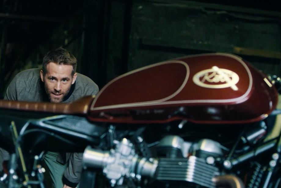 Ryan Reynolds'ın Motorsiklet Tutkusu