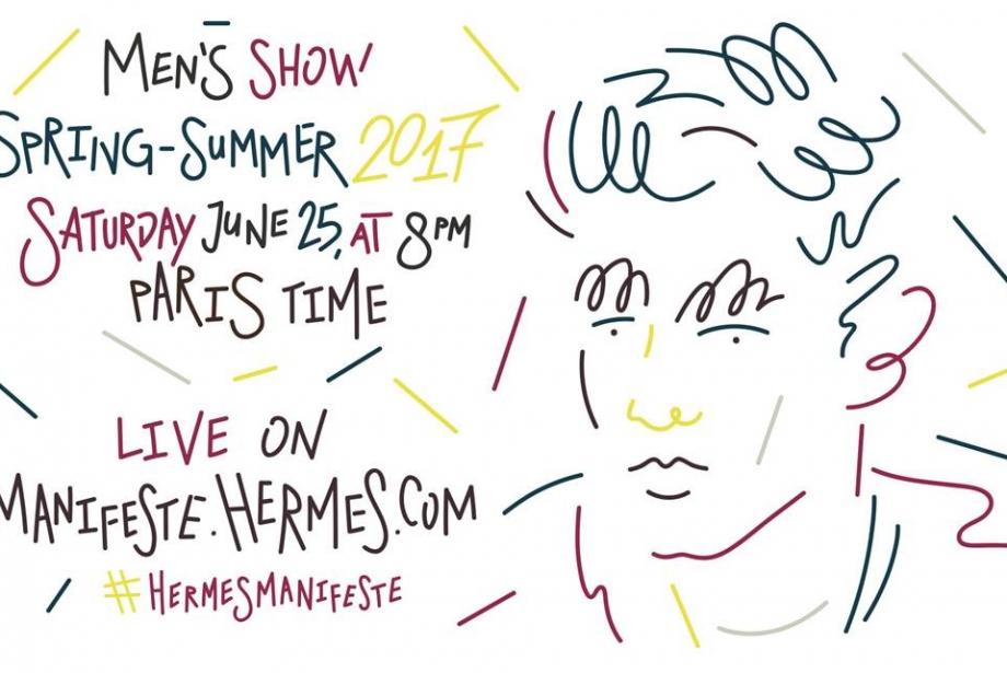 Paris Moda Haftası Hermès Canlı Yayın