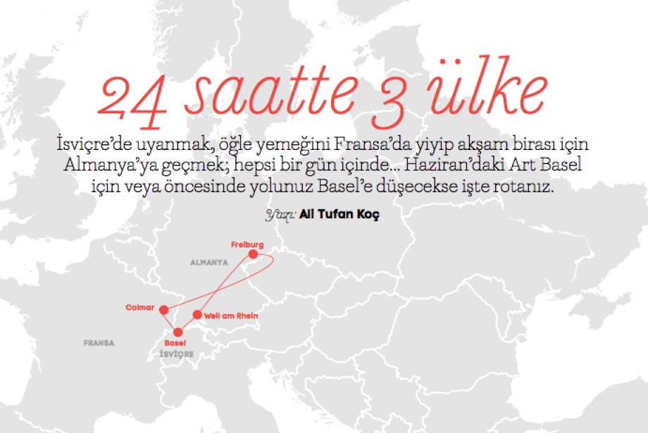 Hafta Sonu Kaçamağında Bu Hafta: 24 Saatte 3 Ülke