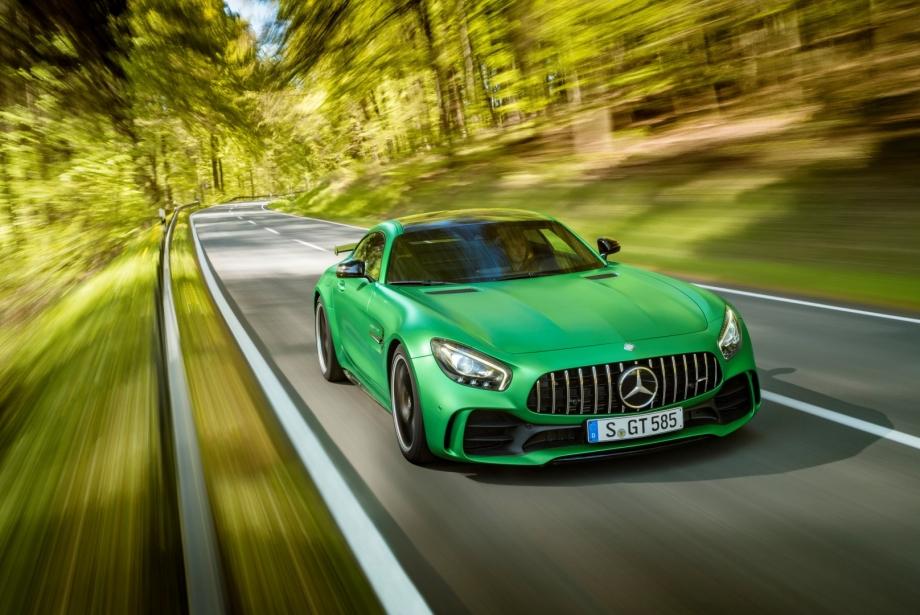 Yeşil Cehennem'in Canavarı Mercedes-AMG GT R yollara çıkıyor: