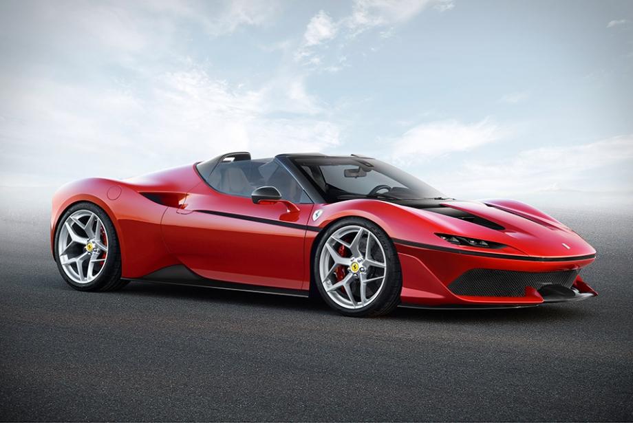 Ferrari'den Japonya'daki 50. Yılına Özel J50 Modeli