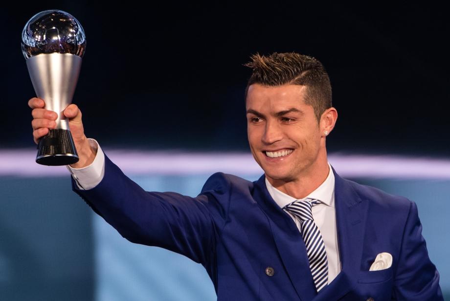 Christiano Ronaldo FIFA Ödülü'nü Dördüncü Kez Kazandı
