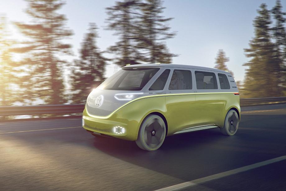Volkswagen I.D Buzz Konsept Otobüsü