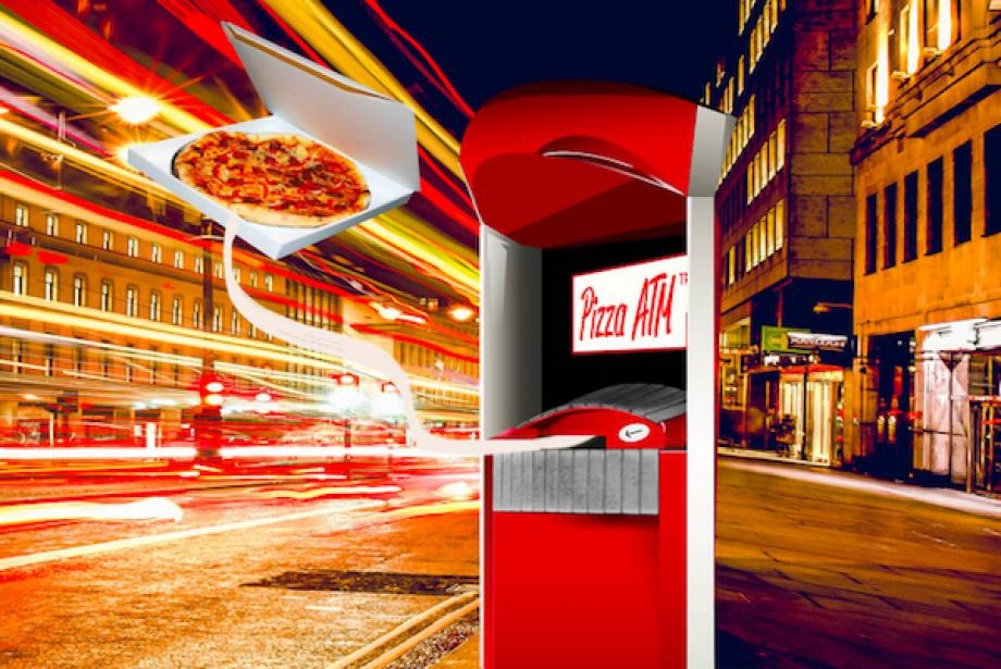 Sipariş Beklemeyin, Gidin ATM'den Pizzanızı Çekin