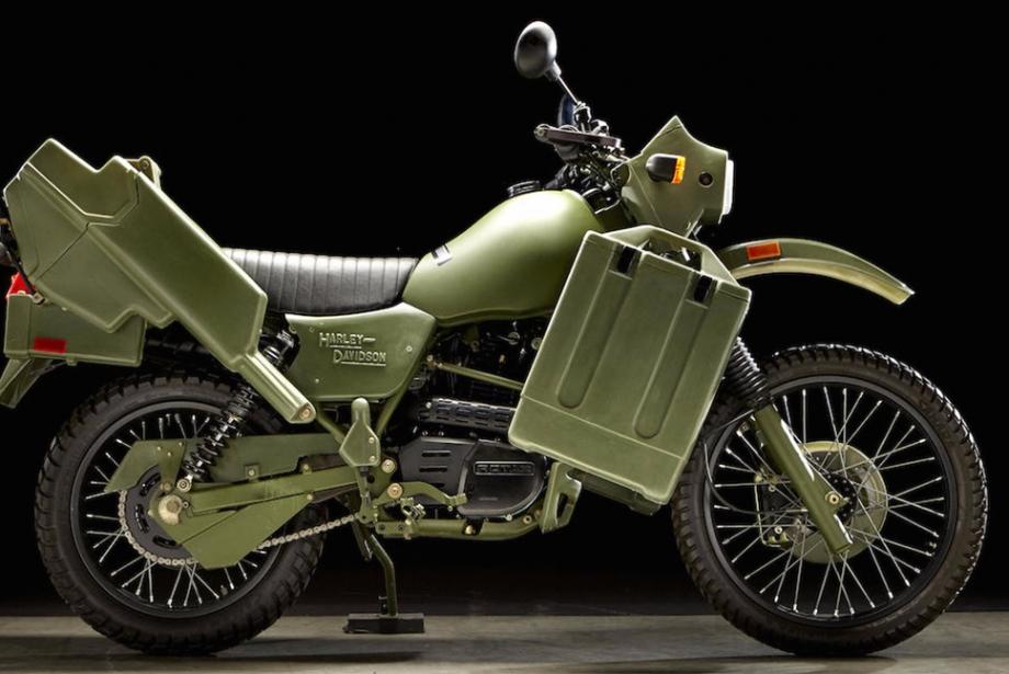 Harley Davidson MT500 Askeri Motosikleti
