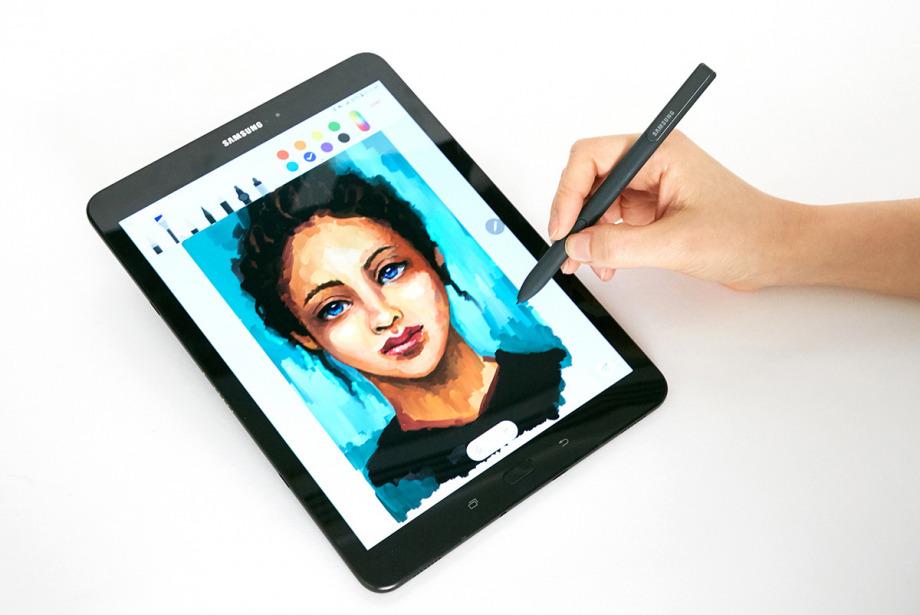 Samsung'un yeni tableti Galaxy'ler ile tanışın!